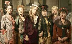 Ladies of the night on Deadwood.