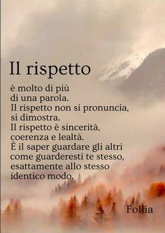 Rispetto Monday Motivation, Fitness Motivation, Best Quotes, Life Quotes, Italian Quotes, Motivational Posts, Stop Thinking, Beautiful Words, Life Lessons