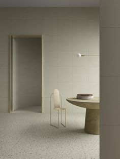 Terzo Piano took care of art direction, set design and styling of the images.Cementmix Collection presented at Cersaie 2019 Patricia Urquiola, Interior Design Shows, Interior Styling, Traditional Tile, Tile Installation, Minimalist Interior, Warm Colors, Feng Shui, Contemporary Furniture