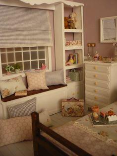 Diorama escala 1:6 para blythe pullip momoko barbie licca