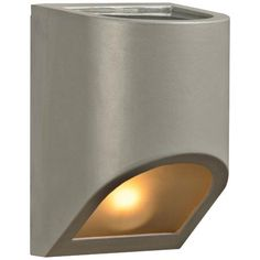 "Perry 8"" High Top and Silver Bronze Outdoor Wall Light 84"