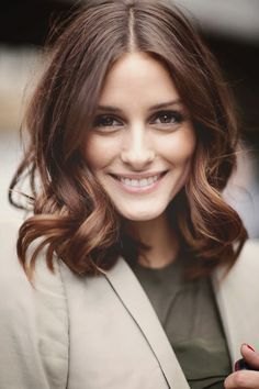 Olivia Palermo natural makeup and hair