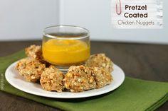 Emily Bites - Weight Watchers Friendly Recipes: Pretzel Coated Chicken Nuggets
