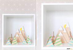 DIY Diorama for kids room - Planet Fur. For more inspirations, go to www.designisyay.com