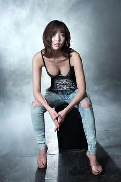 Korean Racing Model by Race-Queen.deviantart.com on @deviantART