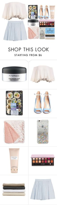 """don't say you're gonna leave me"" by pearliemoon ❤ liked on Polyvore featuring MAC Cosmetics, Gianvito Rossi, Nordstrom Rack, Forever 21, Carven, Anastasia Beverly Hills, CASSETTE, Abyss & Habidecor and Joie"