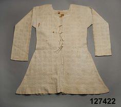 DigitaltMuseum - Tröja stickad - bomullsgarn -  1750-1769