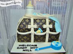 Louis Vuitton Diaper Bag Cake