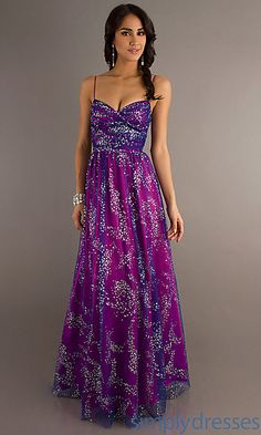 Long Dresses, Long Formal Dresses, Long Prom Gowns - SimplyDresses