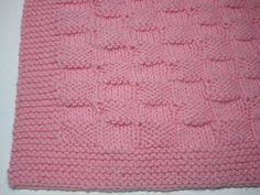 Hand Knitted Basket Weave Soft Baby Afghan by AfghansForBabies, $65.00