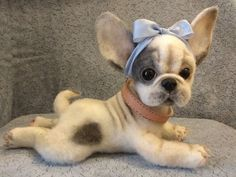 Фотография Needle Felted Animals, Felt Animals, Cute Baby Animals, Needle Felting, Animals And Pets, Teddy Toys, Teddy Bear, Felt Dogs, Bear Doll