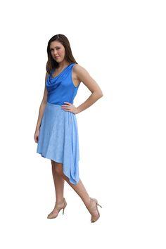 4-in-1 Kimini worn as a skirt