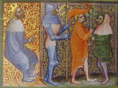 Manuscript ONB Cod. Vindobonensis 2762 Wenzel Bible Folio 41 Dating 1389 From Germany (exact location unknown) Holding Institution Österreichische Nationalbibliothek