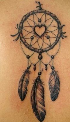 Heart Dream Catcher Tattoo Dream Catcher Tattoo On Upper Thi.-Heart Dream Catcher Tattoo Dream Catcher Tattoo On Upper Thigh Heart Dream Catcher Tattoo Dream Catcher Tattoo On Upper Thigh - Henna Tattoo Hand, Herz Tattoo, Ankle Tattoo, Back Tattoo, Dove Tattoos, Arrow Tattoos, Feather Tattoos, New Tattoos, Body Art Tattoos