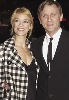 Amori tra star/ Le coppie vip del passato.... uno degli attori più sensuali di Hollywood, il James Bond dei giorni nostri, Daniel Craig, che in passato ha fatto coppia fissa con l'interprete tedesca Heike Makatsch.