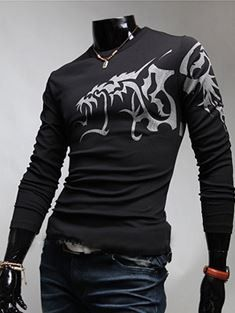 Stylish, nice design dragon tattoo design, and good price. You will absolutely love this shirt! $20.99 unique-outfit.com