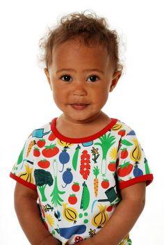 Duns s/s tee - Veggie Garden Retro Baby Clothes - Baby Boy clothes - Danish Baby Clothes - Smafolk - Toddler clothing - Baby Clothing - Baby clothes Online