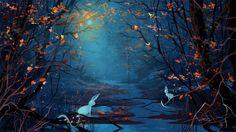 Forest Creek Bunnys Liebesnacht wallpapers