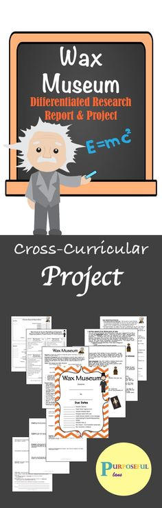 Engaging and ready-to-go project that provides excellent support to the history, writing, and literacy curriculum to engage students and motivate students for learning. Students can write a 5 paragraph research report or the graphic organizer can be used