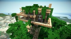 Images of minecraft treehouse mansion - Minecraft Houses For Girls, Minecraft Houses Xbox, Minecraft House Tutorials, Minecraft Houses Survival, Minecraft Houses Blueprints, Minecraft House Designs, Minecraft Projects, House Blueprints, Minecraft Ideas