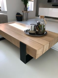 Rustic Wood Furniture, Loft Furniture, Living Room Furniture, Living Room Decor, Furniture Design, Table Palette, Wood Resin Table, Wood Table Design, Cosy Interior