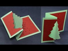 Easy Holiday Cards - YouTube