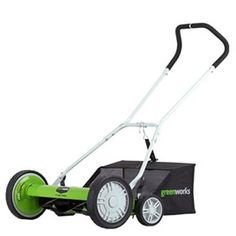 "GreenWorks 25062 Greenworks (18"") 5-Blade Push Reel Lawn Mower"