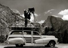 valscrapbook: iconoclassic: indigodreams: aconversationoncool: A good photograph is knowing where to stand. ~Ansel Adams