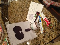 Boo bags for preschool teacher Halloween gift!  Candle and candy.... Easy peasy!  I may love Halloween too much