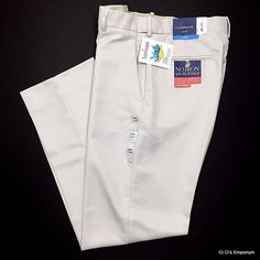 Croft & Barrow Microfiber Classic Fit Dress Pants 32 x 32 Gray Stone Flat Front  #CroftBarrow #DressFlatFront