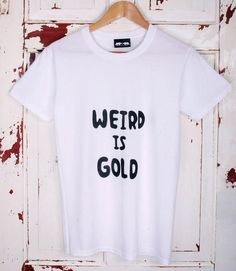 Don't feed the bear T - weird is gold ❤️❤️❤️