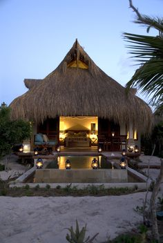 Love the Azura boutique hotel on Mozambique's Benguerra Island--so romantic!