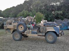 Land Rover Defender 110 SAS DPV.