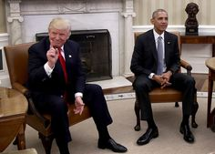 Trump surprised by scope of job! He promised to work with Pres. Obama.
