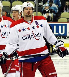 Ex Hawk and current Capital- Troy Brouwer