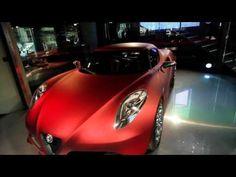Autosital - Le concept Alfa Romeo 4C au Motorvillage des Champs-Elysées - Paris