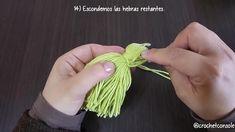 Macrame, Tassels, Crochet Earrings, Diy, Crafts, Aurora, Hand Embroidery, Making Pom Poms, Crochet Projects