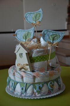 torta pannolini / diaper cake