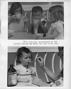 Yum! Cod liver oil! Report of WPA Activities of the Golden Gate Internationa