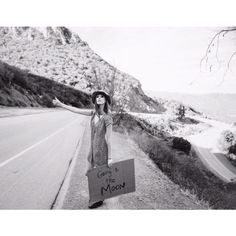 Going to the moon.. Via Mulholland drive... www.alexamiller.com
