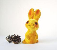 Flocked Bunny Toy, Little Rabbit, Vintage Soft Polymer Soviet Toy Animal, Estonian Authentic Gift, USSR Collectible Toy Vintage Soft, Bunny Toys, Vintage Easter, Flocking, Pet Toys, Vintage Decor, Kitsch, Rabbit, Illustration