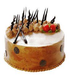 Designer Butter Scotch Cake Buy OnlineOrder Birthday