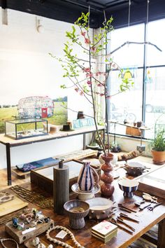 Marina Burini – Stylist and Co-Owner of Beautiful Dreamers at her Home and Store in Brooklyn « the selby