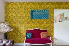 Faye & Dave's Amazingly Artistic, Colorfully Patterned UK Home — House Tour