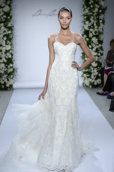 Pin for Later: 100+ Must-See Wedding Dresses From Bridal Fashion Week Autumn 2015 Dennis Basso For Kleinfeld Bridal Autumn 2015
