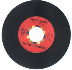The Everly Brothers 45 rpm Cathy's Clown