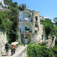 What we see on the walk to Amalfi [Sentiero Antica Repubblica]. For…
