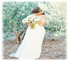 Vintage Bride in Rustic Olive Trees. Inspiring Cinque Terre Wedding. www.cinqueterrewedding.com