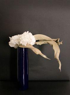 Ikebana Sogetsu realizzato da Luca Ramacciotti