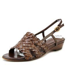 SESTO MEUCCI   Sesto Meucci Genisa Women W Open-Toe Leather  Slingback Sandal #Shoes #Sandals #SESTO MEUCCI